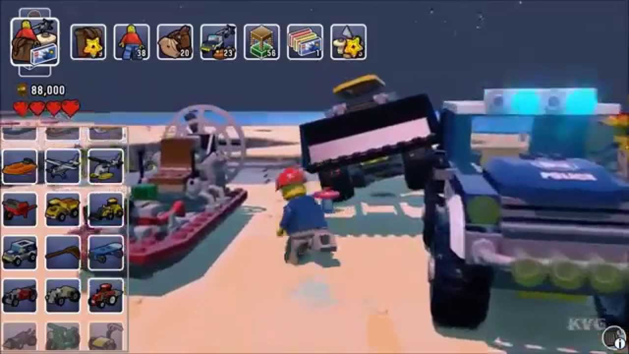 LEGO Worlds - All Vehicles | List - Early Acces + Update 1 (PC HD ...