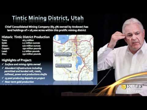 Andover Mining Corp's 2012 Corporate Presentation - Gordon Blankenstein, CEO & Chairman