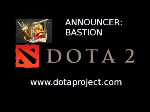 Dota 2 Bastion Announcer Pack