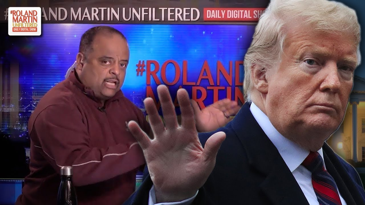Roland Martin goes in on black people that could caring less about trump