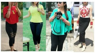 Daily wear western Outfits ideas for girls & women !!  Latest jeans top designs For collage/ office