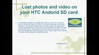 [HTC Android Recovery] Easy Recover deleted photos from HTC phone