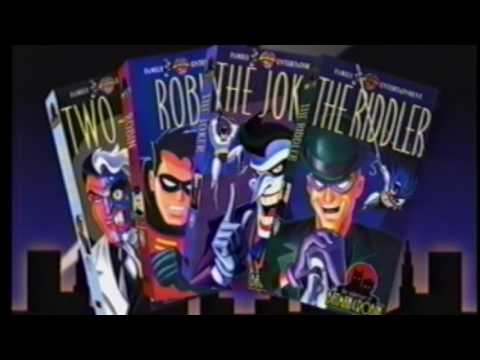 Batman: The Animated Series (1994–1995) VHS commercial