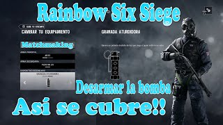 Video de - Rainbow Six Siege - Desarmar la bomba - Partidaza!!!