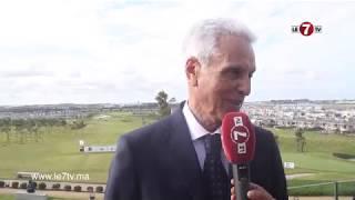 مصطفى الزين...المغرب يتفوق بشكل كبير على البلدان العربية في رياضة الغولف.