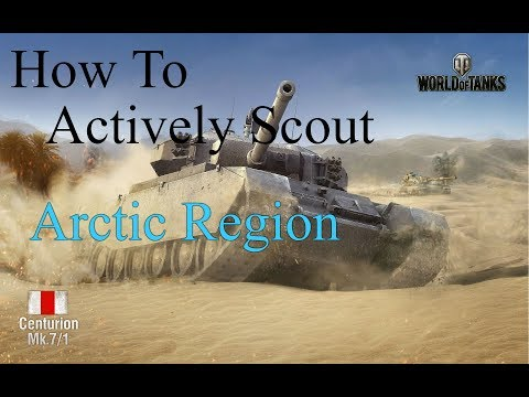 How To Actively Scout Arctic Region (World Of Tanks Console)