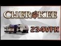 2017 Forest River Cherokee 234VFK Travel Trailer Lakeshore RV