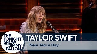 "Taylor Swift Debuts ""New Year's Day"""
