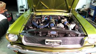 GT140T with no distributor, running EDIS4 instead in 66 Mustang 2.3 turbocharged SVO turbo engine