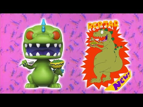 FYE Exclusive Reptar With Cereal Funko Pop Review