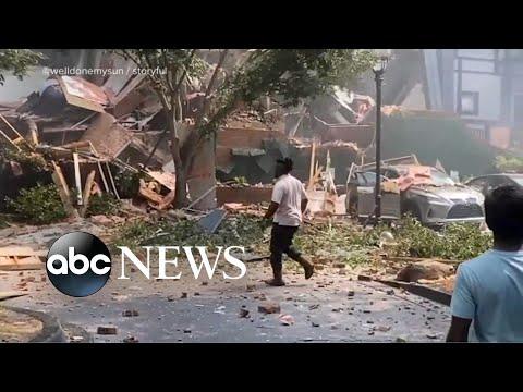 Massive explosion rocks apartment complex outside Atlanta