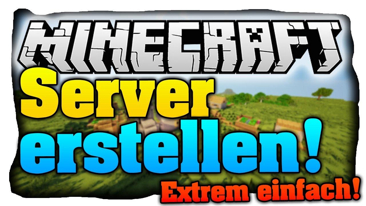 Minecraft Server Erstellen In JEDER Version Kostenlos U Extrem - Tutorial minecraft server erstellen kostenlos youtube