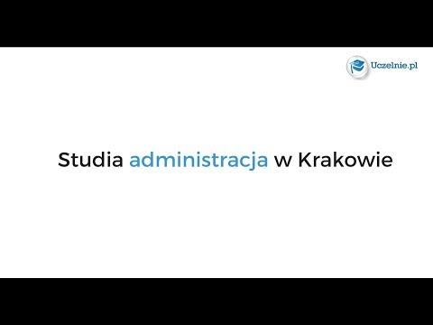 Studia Administracja Kraków