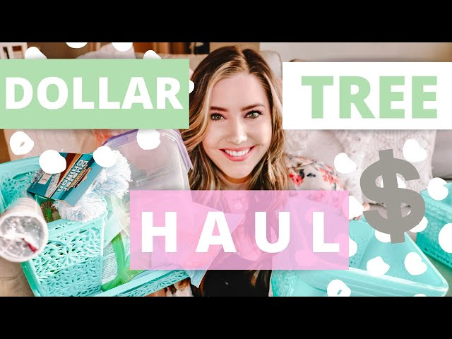 SPRING DOLLAR TREE HAUL! BEST DOLLAR TREE FINDS I FOUND/ I SPENT $100 DOLLARS AT THE DOLLAR STORE!!