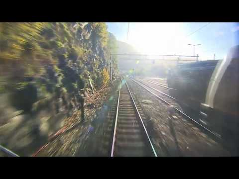 Train Tour   The Bergen Line to Oslo minute by minute