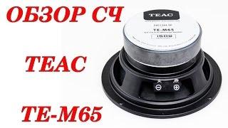 Обзор автомобильных динамиков Teac TE-M65. Автозвук своими руками
