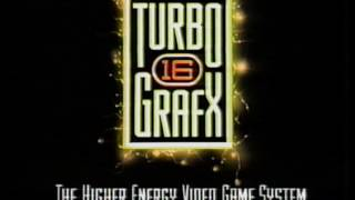 Turbo Grafx 16 Free Video Brochure with Sneak Previews VHS 1990 PC Engine