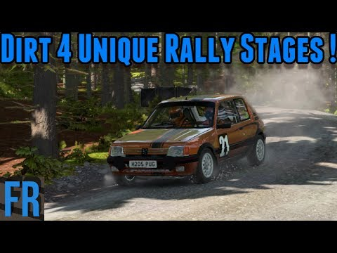 Dirt 4 - Unique Rally Stages !