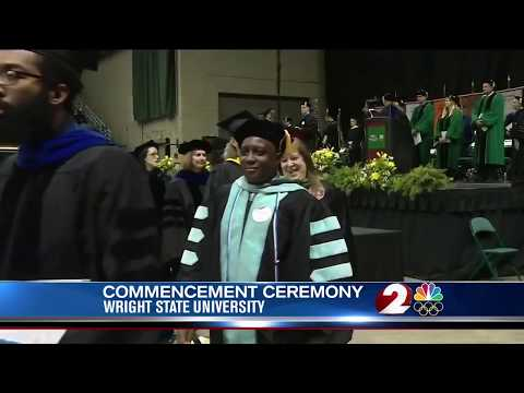 WDTN: Nearly 1900 Wright State students received diplomas at fall commencement