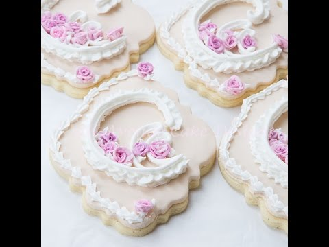 how to make hard icing for wedding cakes how to pipe royal icing lambeth wedding cookies 15953