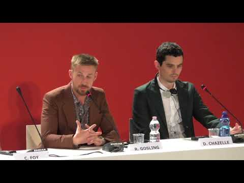 Ryan Gosling and Damien Chazelle Talk FIRST MAN Venice Film Festival 2018