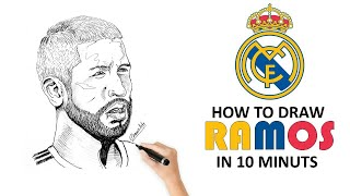 How to Draw Sergio Ramos - By chami