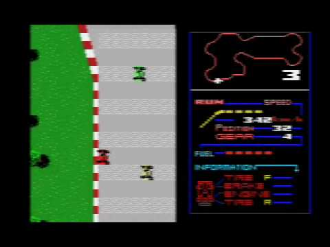 F1-Spirit The way to Formula 1 (1987 Konami)