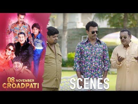 08 November Croadpati Scenes | Gullu Dada gang go back to Hyderabad from Dubai | Silly Monks Deccan