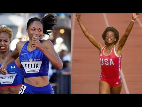 2016 Olympics: Allyson Felix talks about chance to surpass Jackie Joyner-Kersee