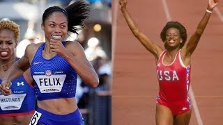 2016 Olympics: Allyson Felix talks about chance to surpass Jackie Joyner-Kersee's medal total