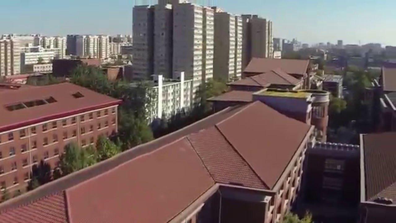 Beijing National Day School Aerial Shooting - YouTube
