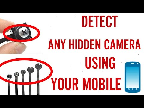 device to detect hidden cameras
