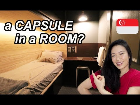 Staying In A CAPSULE POD SUITE HOTEL! | IS THIS THE BEST BUDGET ACCOMMODATION In SINGAPORE? (2020)