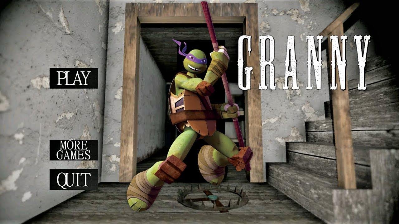 Download Granny Is Ninja Turtles!!
