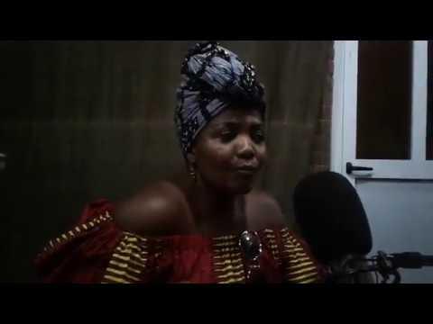 Gaby Amarantos - A cantora brasileira em entrevista exclusiva na Rádio Jovem Bissau - Part. 1