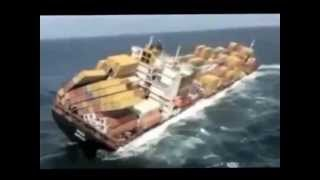 Unbelievable; Mega Container Ship Runs Aground.