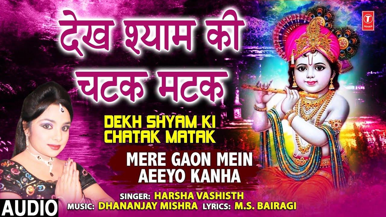 Dekh Shyam Ki Chatak Matak I Krishna Bhajan I HARSHA VASHISTH I Full Audio Song