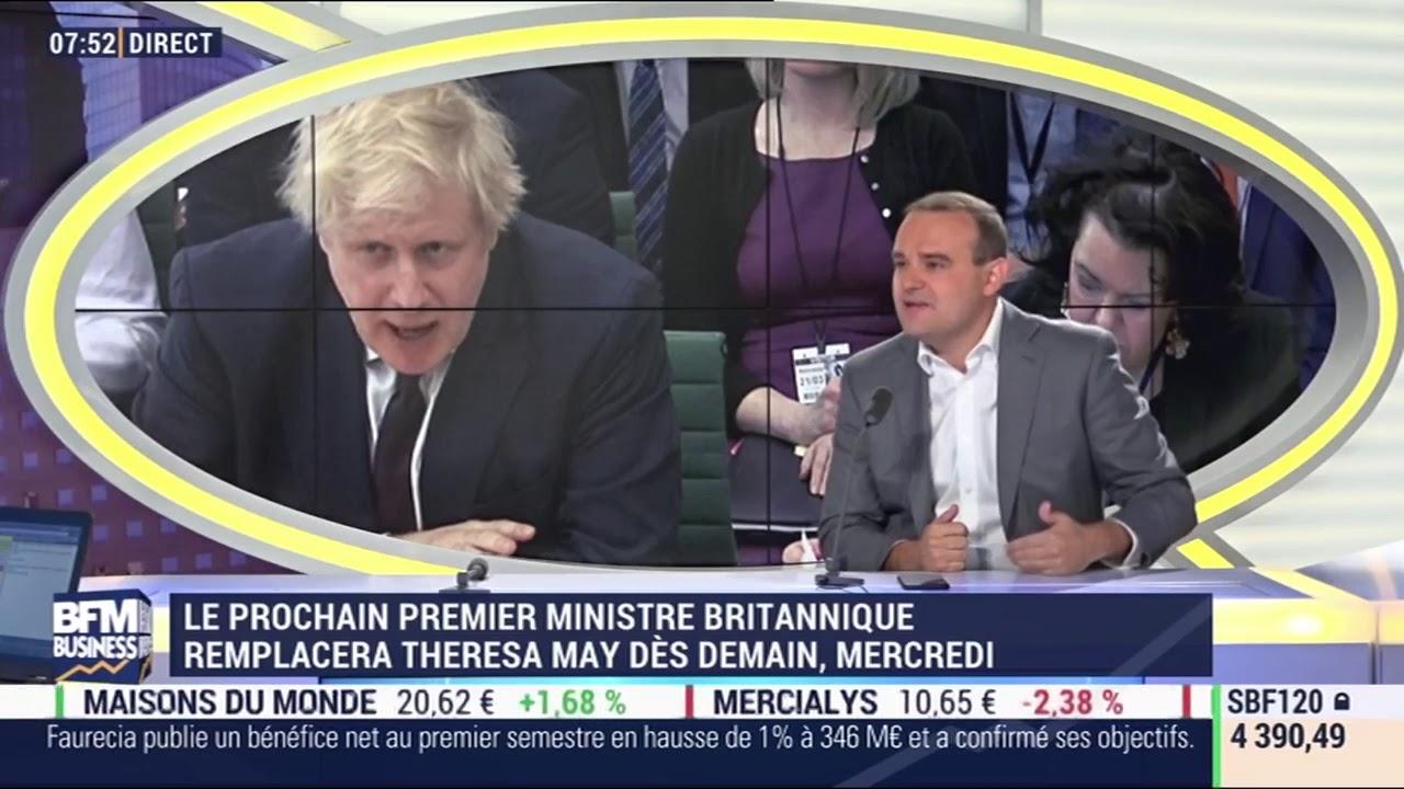 Mon intervention dans BFM Business sur Boris Johnson et le Brexit