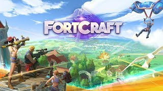 FORTCRAFT GAMEPLAY Fortnite Mobile Clone Download ANDROID/IOS ᴴᴰ | Apk Gaming