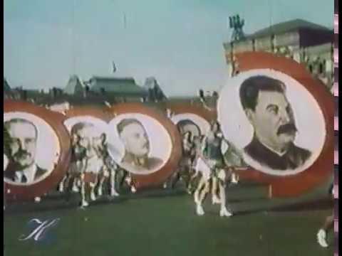Физкультурный #парад 1938 года