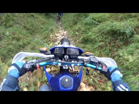 Enduro Będzin: Cold And Wet Day (Dt125R&KMX125)