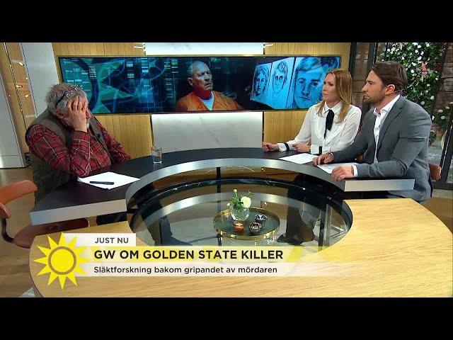 """Leif GW Persson: """"Han brukade övernatta och äta hos sina offer"""" - Nyhetsmorgon (TV4)"""