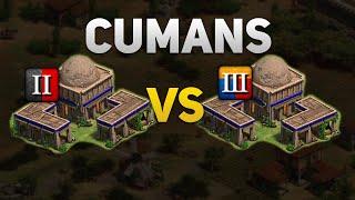 AoE2:DE Cuman Feudal Boom vs Castle Boom