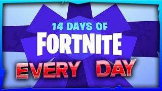 14 days of Fortnite Every Challenge Guide + Rewards