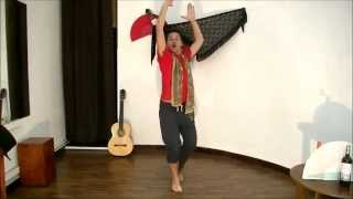 How To Dance Flamenco - Dancing Alegrías(In this video we are going to see how to dance to a lyric of Alegrías in order to find the sense in your dancing steps. Also we will try to analyse where the places ..., 2015-09-13T16:16:04.000Z)