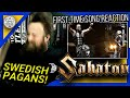 "ROADIE REACTIONS | ""Sabaton - Swedish Pagans (Live | Wacken 2019)"""