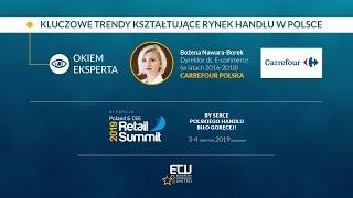 Rynek handlu w Polsce - Wywiad: Bożena Nawara-Borek, Carrefour Polska