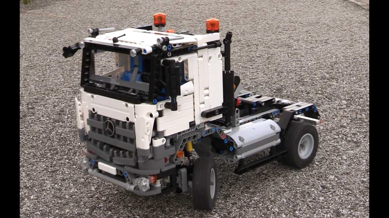 rc motorizet b model lego technic 42043 mercedes benz acros 3245 youtube. Black Bedroom Furniture Sets. Home Design Ideas