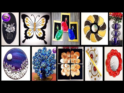 10 diy room decor | waste material craft | Fashion pixies | diy projects