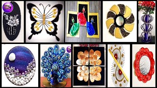 10 diy room decor | waste material craft ideas | Fashion pixies | diy crafts | craft ideas